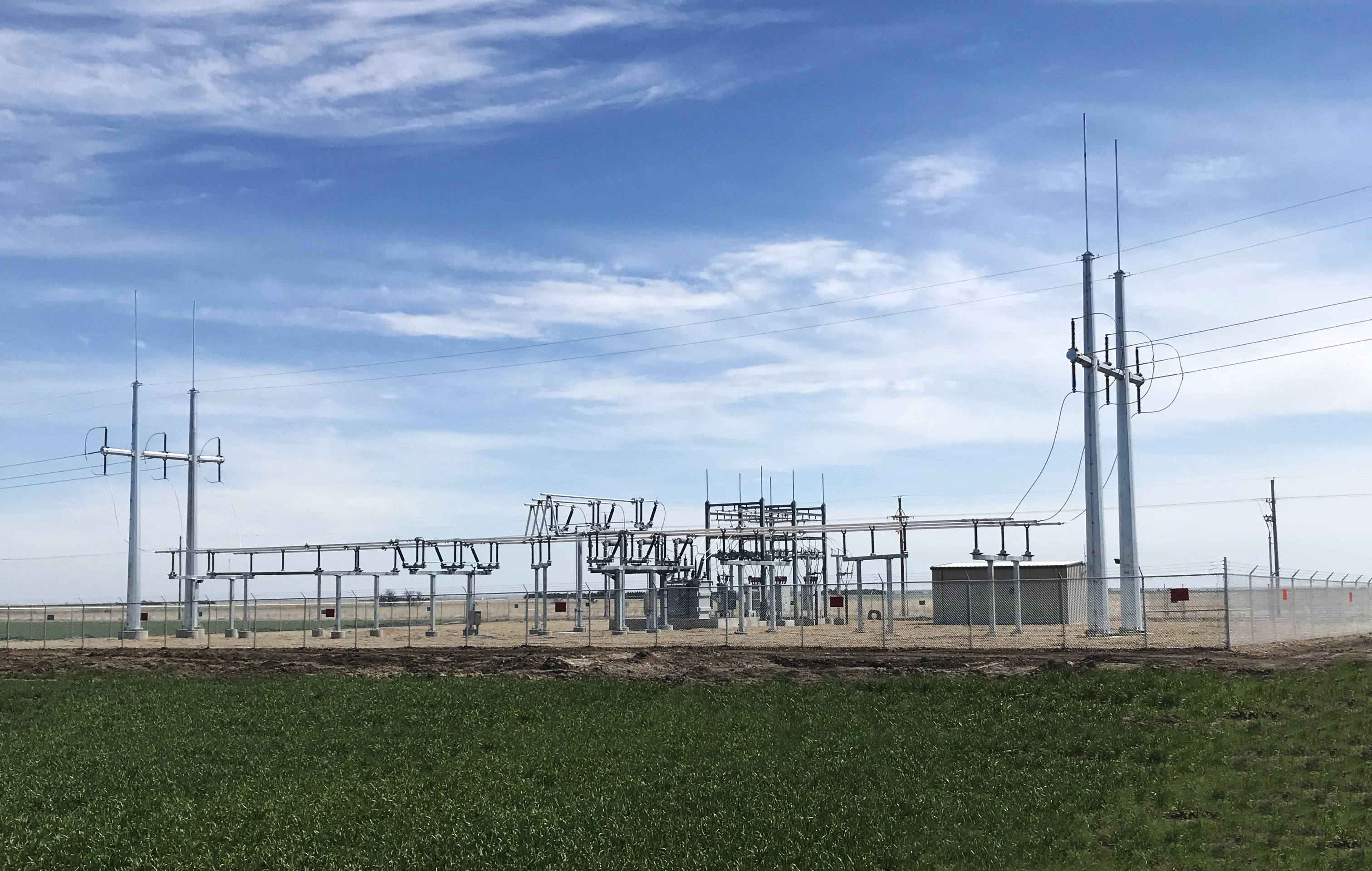Angus substation electric utility design