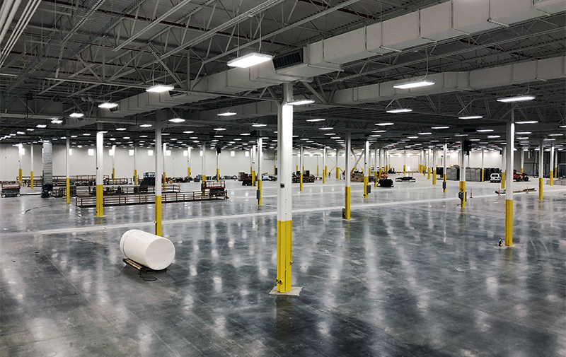 HVAC manufacturing warehouse expansion