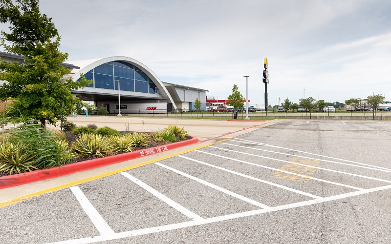Vinita Service Plaza landscape architecture