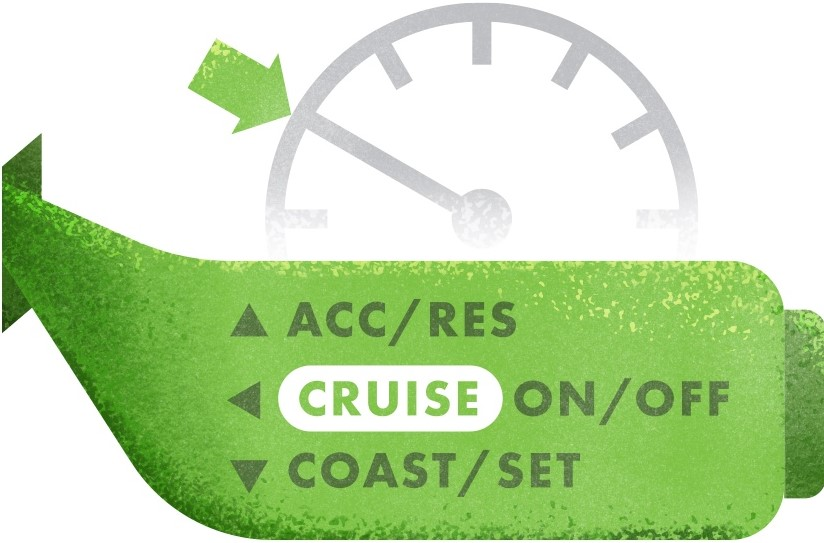 cruise control graphic