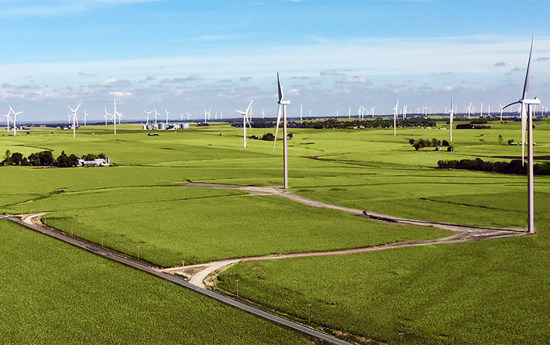 wind farm engineering landscape